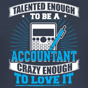 TALENTED accountant - Men's Slim Fit T-Shirt