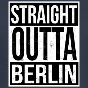 Straight Outta Berlin - Slim Fit T-shirt herr