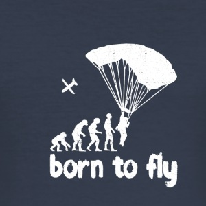 evolution Skydiving - Herre Slim Fit T-Shirt