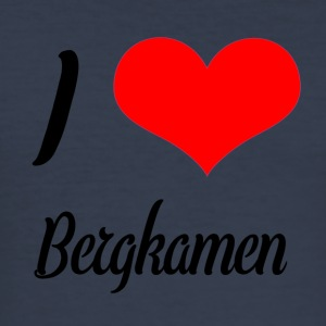 I love Bergkamen - Männer Slim Fit T-Shirt