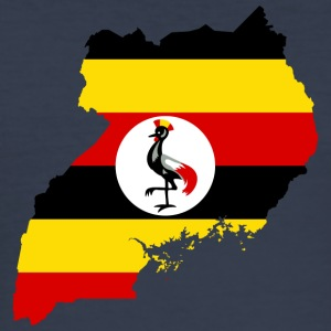uganda samling - Slim Fit T-skjorte for menn