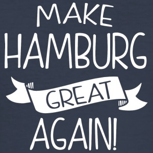 Make Hamburg great again - Men's Slim Fit T-Shirt