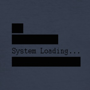 System_Loading - Herre Slim Fit T-Shirt