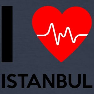 J'aime Istanbul - I Love Istanbul - Tee shirt près du corps Homme