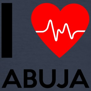 I Love Abuja - I Love Abuja - Herre Slim Fit T-Shirt