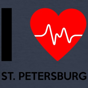 I Love St, Petersburg - jeg elsker St. Petersburg - Herre Slim Fit T-Shirt