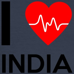 I Love India - I Love India - Slim Fit T-skjorte for menn