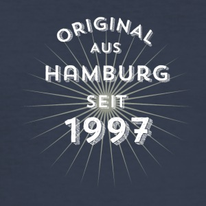 Original from Hamburg since 1997 - Men's Slim Fit T-Shirt