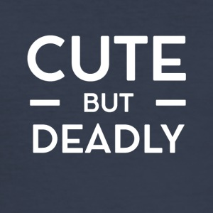Cute but Deadly - Männer Slim Fit T-Shirt