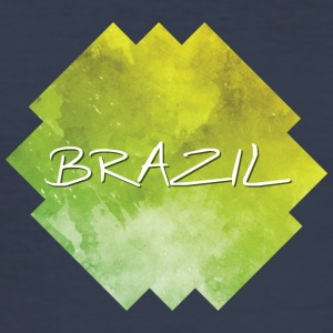 Brazil - Brazilië - slim fit T-shirt