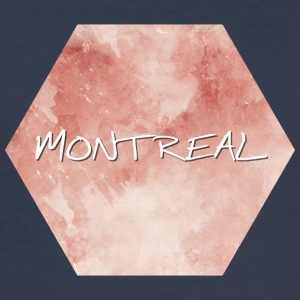 Montreal - Slim Fit T-skjorte for menn