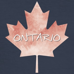 Ontario Maple Leaf - Herre Slim Fit T-Shirt