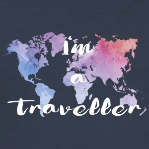 I'm a traveler - Men's Slim Fit T-Shirt