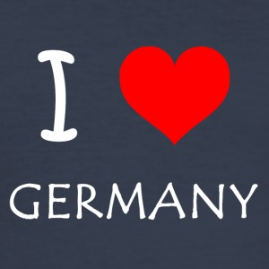 I love Germany - Men's Slim Fit T-Shirt