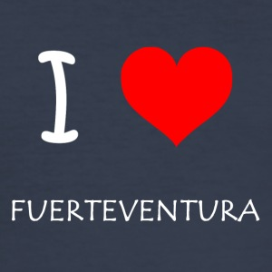 I Love Fuerteventura - Herre Slim Fit T-Shirt