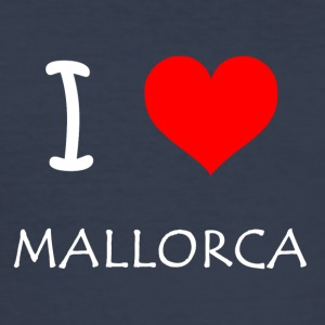 I Love Mallorca - Men's Slim Fit T-Shirt