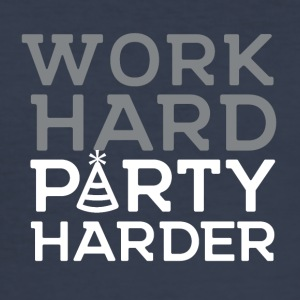 Werk hard, harder VIERING - slim fit T-shirt