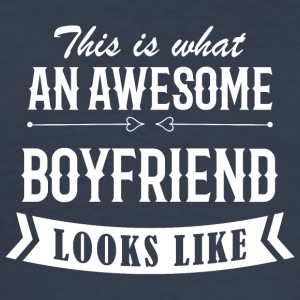 Awesome Boyfriend - Herre Slim Fit T-Shirt