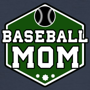 Baseball mom - slim fit T-shirt