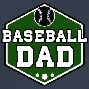 baseball pappa - Slim Fit T-skjorte for menn