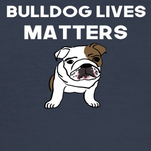 bulldog live performance matters - Men's Slim Fit T-Shirt