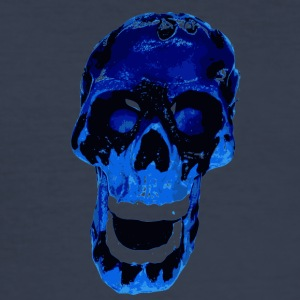 Blue Death - Männer Slim Fit T-Shirt