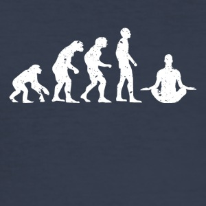 EVOLUTION BUDDHA! - Slim Fit T-skjorte for menn