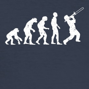 TRUMPET EVOLUTIE! - slim fit T-shirt