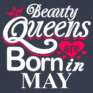 Beauty Queens Born in May - Men's Slim Fit T-Shirt