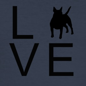 Hund Love 4 - Herre Slim Fit T-Shirt