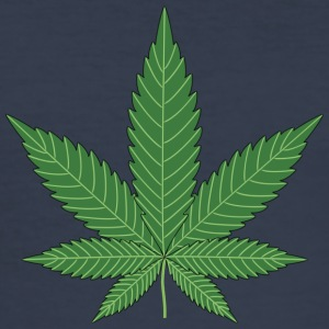 Cannabis leaf - Men's Slim Fit T-Shirt