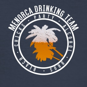 Shirt party holiday - Menorca - Men's Slim Fit T-Shirt