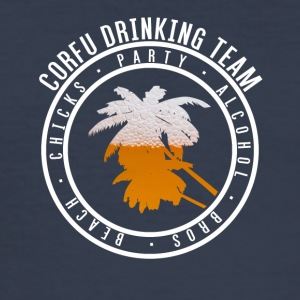 Shirt party holiday - Corfu - Men's Slim Fit T-Shirt