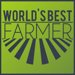 Farmer / Farmer / Farmer: World's Best Farmer - slim fit T-shirt