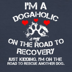 dogaholic - Slim Fit T-skjorte for menn