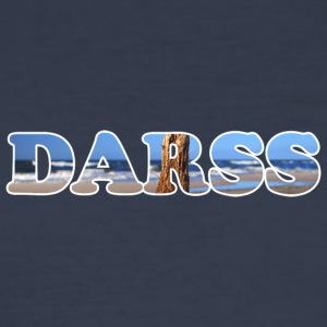Text DARSS - Men's Slim Fit T-Shirt