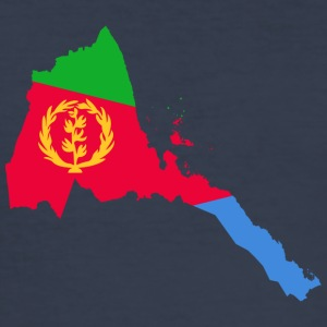 eritrea samling - Slim Fit T-skjorte for menn