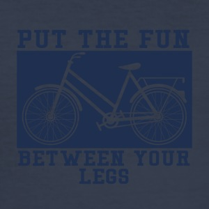 Fiets: Put The Fun Between You Legs - slim fit T-shirt