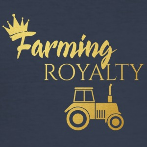 Farmer / Farmer / Bauer: Farming Royalty - Herre Slim Fit T-Shirt