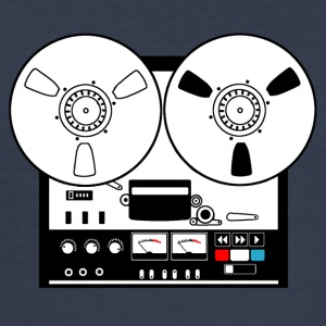 Reel to reel recorder - Men's Slim Fit T-Shirt