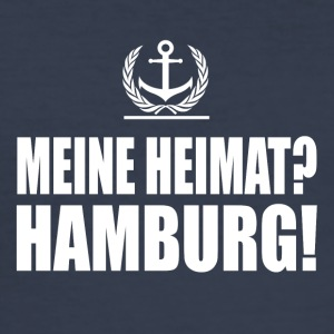 Hamburg - Männer Slim Fit T-Shirt