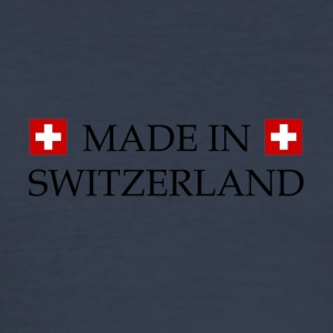 Made_in_Switzerland - Men's Slim Fit T-Shirt