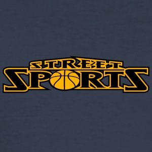 STREET SPORTS 01 - Herre Slim Fit T-Shirt