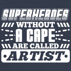 SUPERHEROES ARTIST - Men's Slim Fit T-Shirt