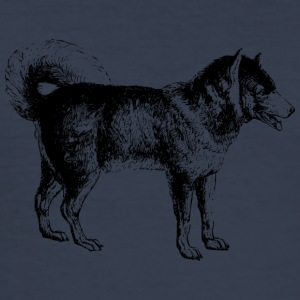 Hund - Männer Slim Fit T-Shirt