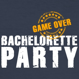 Bachelorette Party gameover JGA Team Bride flickor - Slim Fit T-shirt herr