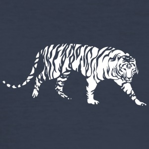 gående kæmpe tiger - Herre Slim Fit T-Shirt