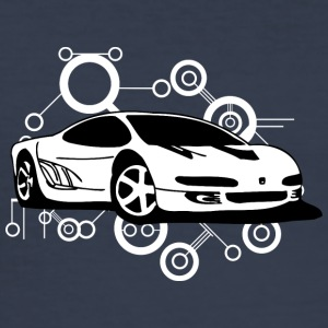 white ferrari - Men's Slim Fit T-Shirt