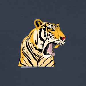 Big tiger - Men's Slim Fit T-Shirt