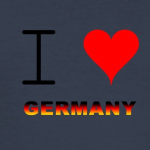 I LOVE GERMANY COLLECTION - Männer Slim Fit T-Shirt